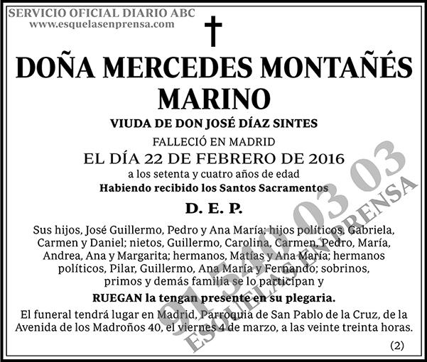 Mercedes Montañés Marino